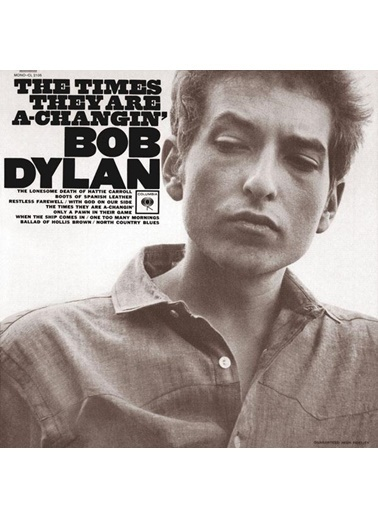 Sony Music Bob Dylan-The Times They Are A Changin Renkli